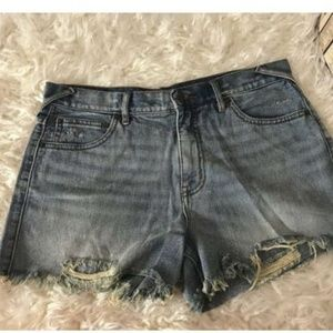Free People Distressed Destroyed HighRise Jeans 30